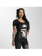 Blood In Blood Out T-shirtar Skull Hat svart