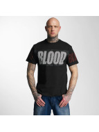 Blood In Blood Out T-Shirty Out Clean Logo czarny
