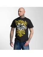 Blood In Blood Out T-skjorter Yellow Harlekin svart