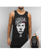 Blood In Blood Out Tank Tops Blood Clown Eyes schwarz