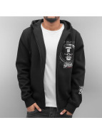Blood In Blood Out Zip Hoodie Trocadero èierna