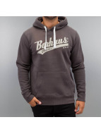 BOXHAUS Brand Hoodie Draft brun
