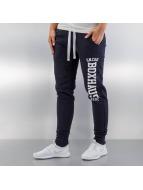 BOXHAUS Brand Jogging Skinny bleu