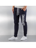 BOXHAUS Brand joggingbroek Skinny blauw