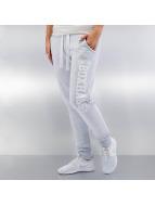 BOXHAUS Brand Jogginghose Skinny grau