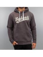 BOXHAUS Brand Sweat à capuche Draft brun