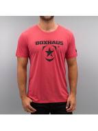 BOXHAUS Brand T-paidat Incept 1.0 punainen