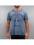 BOXHAUS Brand T-shirt Aron blå