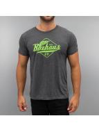 BOXHAUS Brand T-Shirt Yucon grau