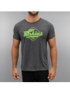 BOXHAUS Brand T-Shirt Yucon grey