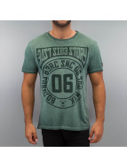 BOXHAUS Brand T-Shirt E.S.S. grün