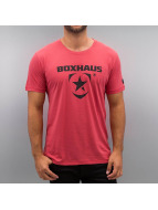 BOXHAUS Brand T-Shirt Incept 1.0 rouge