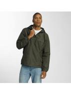 Brave Soul Демисезонная куртка Print Camouflage Overhead хаки