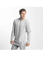 Brave Soul Пуловер Long Line X2 Metal серый