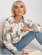 Brave Soul Bomberjacke All Over Camouflage Print camouflage