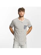 Brave Soul Camiseta All Over Star Print beis