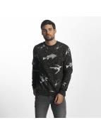 Brave Soul Jumper Sweatshirt grey