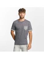 Brave Soul T-Shirt All Over Star Print bleu
