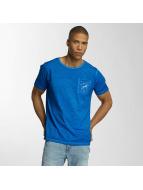 Brave Soul T-Shirt Crew Neck blue