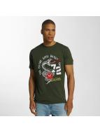 Brave Soul T-shirt Crew Neck Set cachi