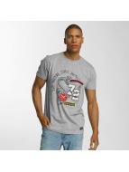 Brave Soul t-shirt Crew Neck Set grijs