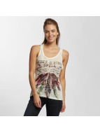 Brave Soul Tank Tops Sublimation beyaz