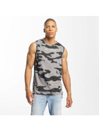 Brave Soul Tank Tops Dropped Armhole camouflage