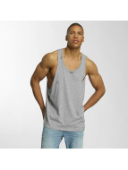 Brave Soul Tank Tops Long Length grå