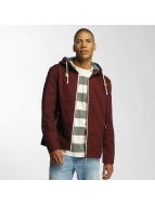 Brave Soul Transitional Jackets Lightweight Cotton red