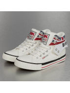 British Knights sneaker Roco PU Textile wit