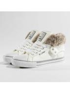 British Knights Roco PU Sneakers Fur Fabric White/Grey