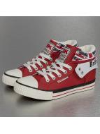 British Knights Sneakers Roco PU Textile èervená
