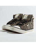 British Knights Sneakers Dee Textile Leopard bezowy