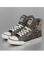 British Knights Sneakers Atoll PU Knitted grey