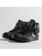 British Knights Sneakers Washed PU Nylon svart