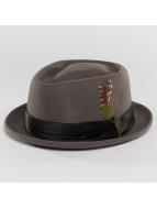 Brixton Шляпа Stout серый