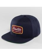 Brixton Jolt Snapback Cap Navy