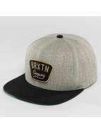 Brixton Snapback Cap Gaston gray