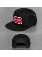 Brixton Snapback Cap Grade Mesh schwarz