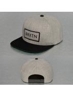 Brixton Snapback Caps Rift harmaa