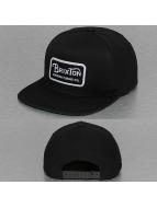 Brixton Snapback Caps Grade musta