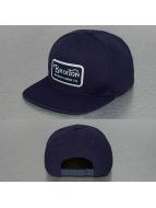Brixton Snapback Caps Grade niebieski