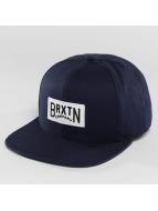 Brixton Snapback Caps Langlay niebieski