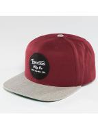Brixton Snapback Caps Wheeler red