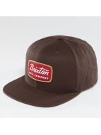 Brixton Snapback Caps Jolt ruskea