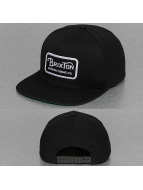 Brixton Snapback Caps Grade svart