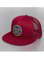 Brixton trucker cap Wheeler Mesh rood
