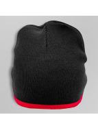Cap Crony Bonnet Single Striped noir