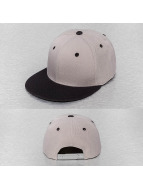 Cap Crony Casquette Snapback & Strapback Two Tone Flat Bill gris
