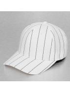 Cap Crony Fitted Cap Pin Striped weiß